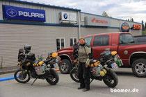 Der nördlichste BMW-Motorrad Händler der Welt