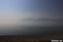 Rauch im Grand-Teton-NP