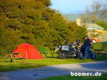 Lake Rotorua camp tent new zealand neuseeland zelt boomer