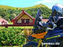 Maori Versammlungshaus