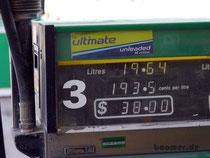 Spritpreise - teurer als die deutsche Autobahn