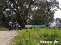 Grenzübertritt nach NSW und Einfahrt in den Kosciuszko Nationalpark