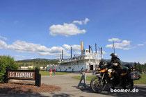Die SS Klondike in Whitehorse