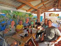 Sundowner mit Orvar, Sara, Mario und Dan