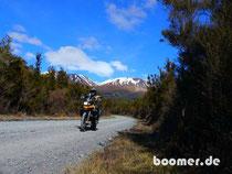 Vulkan, motorrad, Neuseeland