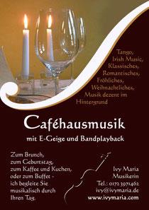 Caféhausmusik mit Ivy Maria