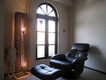 専用の椅子と特別な空間