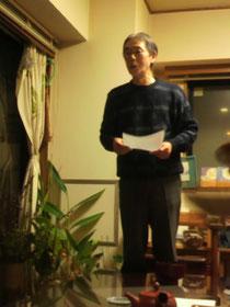 「月と季節の暦」主宰・志賀勝さん