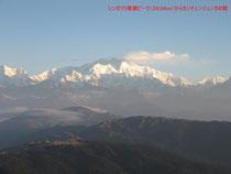 チベットの山々