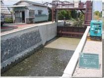 宮島堀川改修工事