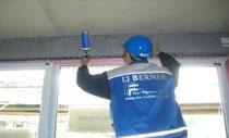 Ausschäumen Passivhausfenster