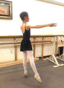 Tomoco Balletto(調布駅徒歩約10分)スタジオにて