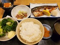 ふっくら鯖の塩焼き