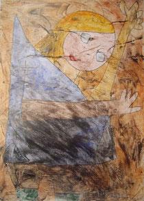 Paul Klee: Engel, noch tastend