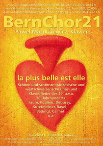 BernChor21, November 2004