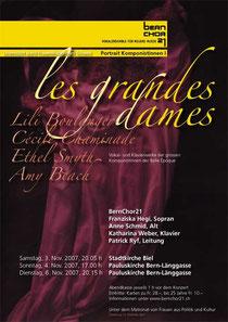 Komponistinnen I, November 2007