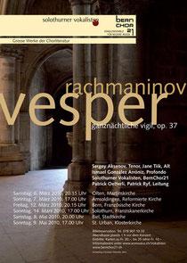 Grosse Werke der Chorliteratur, März/Mai 2010