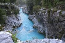 """""""Naturschönheiten Sloweniens"""" - Soca Schlucht"""