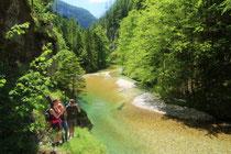 WWF-Exkursion ins wilde Salzatal