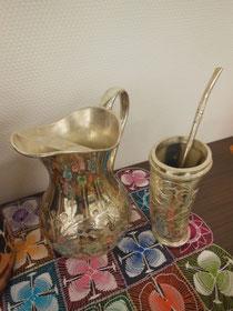 かわいいマテ茶の茶器