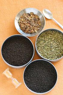 茶葉の種類は多彩です