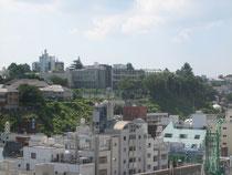 今日の山手元町。フェリスが見えます。