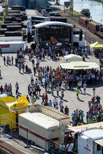 Hafenfest Hamm, Hafenfest, Hamm, 2014, Kanal, Dattel-Hamm Kanal, Bild, Foto, Fotografie