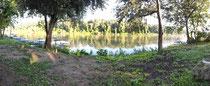 Flussidyll am Morgen