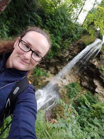 Wasserfall in Lillafüred, der höchste Ungarns