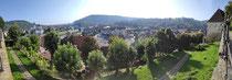 Ausblick vom Rathaus in Sighisoara