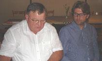 Blickten auf die Kommunalwahl zurück: Ludwig Danner und Hans Jörg Wagmann
