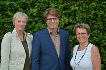Die neue Führungsspitze: 1. Vorsitzender Hans Jörg Wagmann mit seinen zwei Stellvertreterinnen Gudrun Donaubauer (li.) und Renate Stöckl (re.)