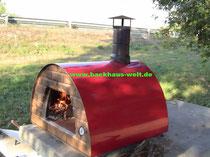 Steinofen Holzbackofen Maximus, Mobil