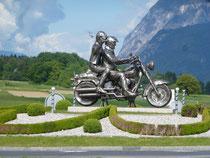 Biker Denkmal am Faaker See