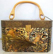 "V107 - Leopards in A Bush"""