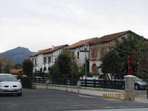 Typische Baskenhäuser