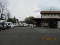 Stellplatz in Hayenne