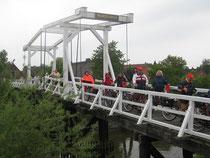 Hoogendiekbrücke über die Lühe
