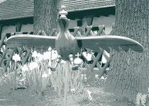 Unsere Schützenvögel bis 2013 gebaut von Familie Görg/Knafla