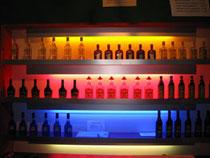 Bar Ablage Theke Element Licht beleuchtet Schnaps Schnäpse Shot shots Rent Mieten Bierbrommer Fest Festival Fasnacht Alkohol