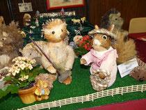 Les Hérissons et Ecureuils de Mireille W