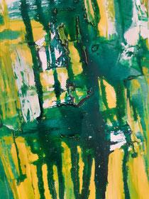 Green Moondance I , 30 cm × 120 cm, 2021