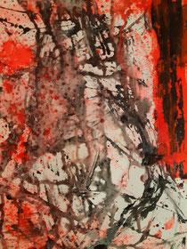Black passion I , 120 cm × 30 cm, 2021