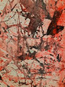 Black passion II , 120 cm × 30 cm , 2021