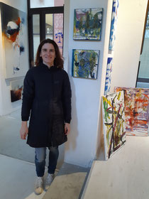 29. January 2020 at Merlino' s Gallery in Via Vecchia 1, Florence! Great meeting with Gallery owner Marina Volpi! Gave her 10 of my paintings for 3 up coming exhibitions in Florence and Spain.