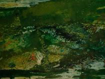 """Green X"", 120 cm × 30 cm"