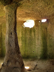 Подземная тюрьма Чуфут-Кале