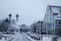 Benediktbeuern im Schnee