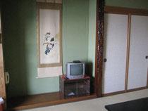 海側の和室8畳です。
