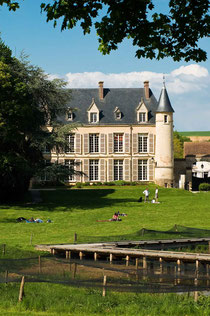 Chateau de Théméricourt. Photo © cyril badet